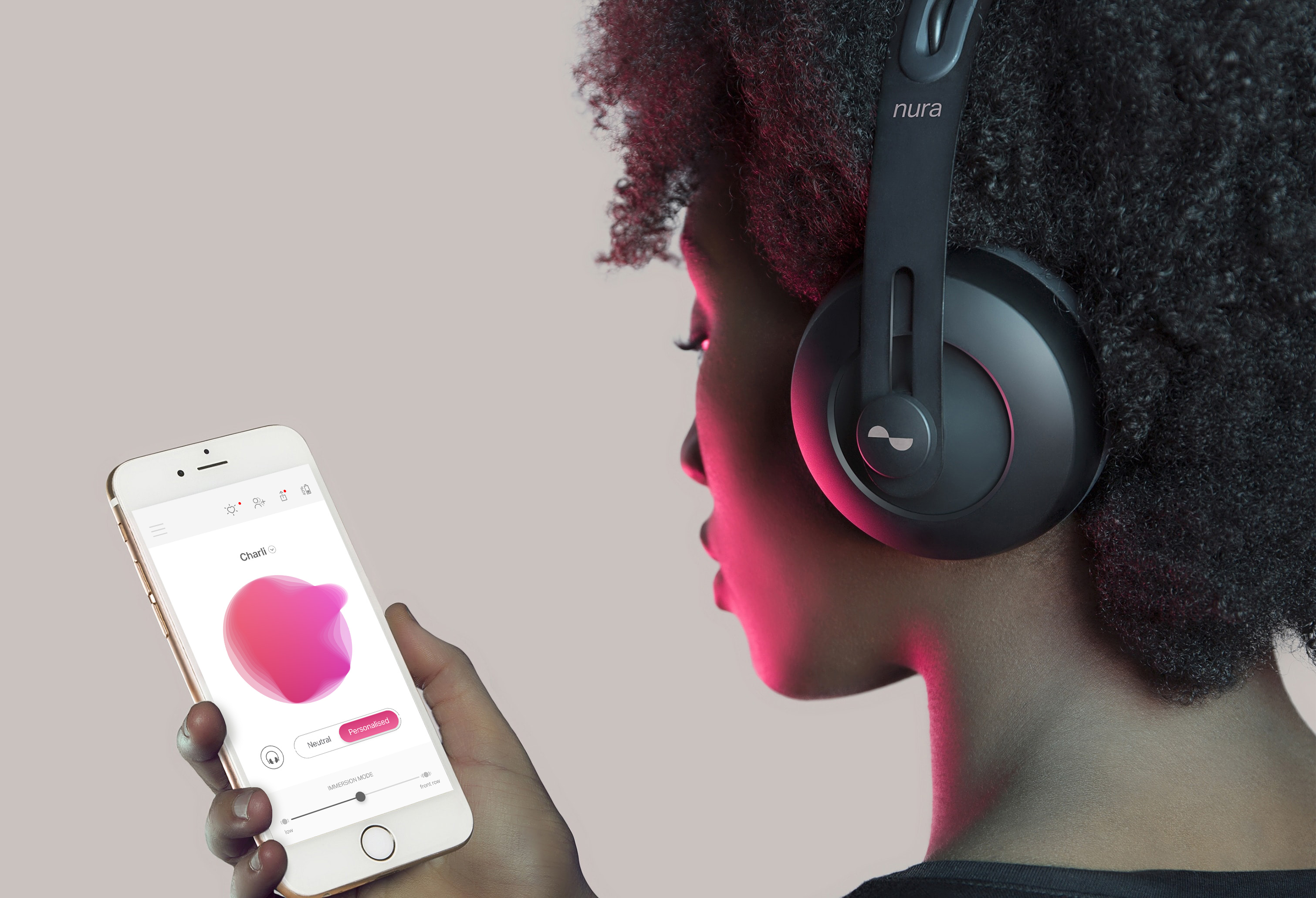 c7b5bdf506a At its core is a self-learning engine built into the nuraphone that  automatically learns and adapts to your unique hearing. Hear your favourite  music for ...